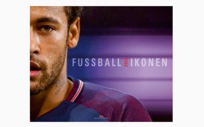 Fußball-Ikonen 2020 – Kalender – 13 farbige Blätter von Künstlern des Rasensports