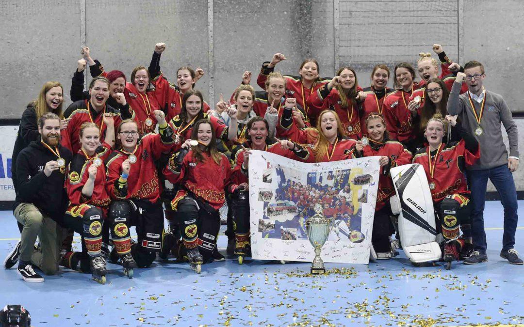 Mendener Mambas – Deutscher Meister Damen Skaterhockey 2019