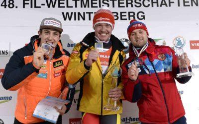 Rennrodel-Weltmeisterschaften 2019 in Winterberg, Einsitzer Herren, Sprint und Team-Staffel