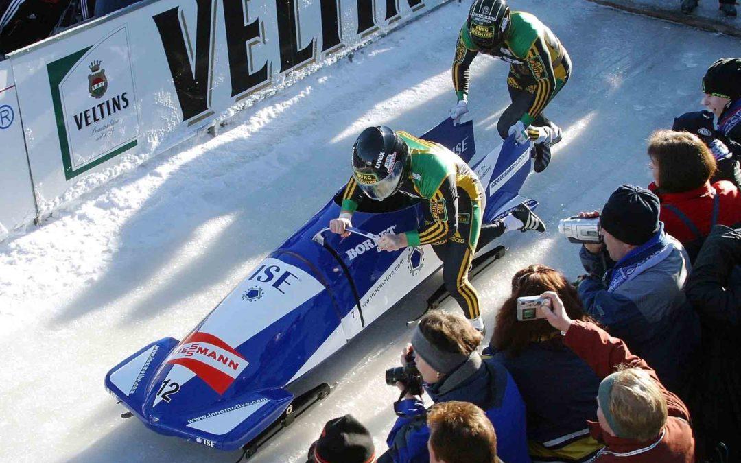 Bob Europameisterschaft 2003 in Winterberg – Lokalmatador René Spies holt EM-Titel im 2er-Bob