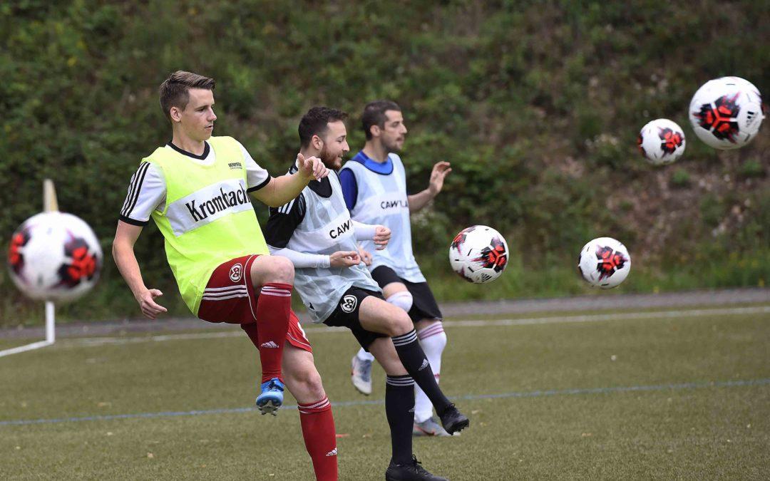 BSV Landesligakicker wieder im Training – Jetzt Hoffnung auf baldige Freundschaftsspiele