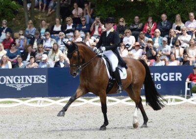 Isabell Werth mit Emilio, Deutsche Meisterschaft Dressur Grand Prix Kür