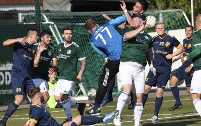 Spannender Fußball in Bildern in Menden am Sonntag, 13. September 2020