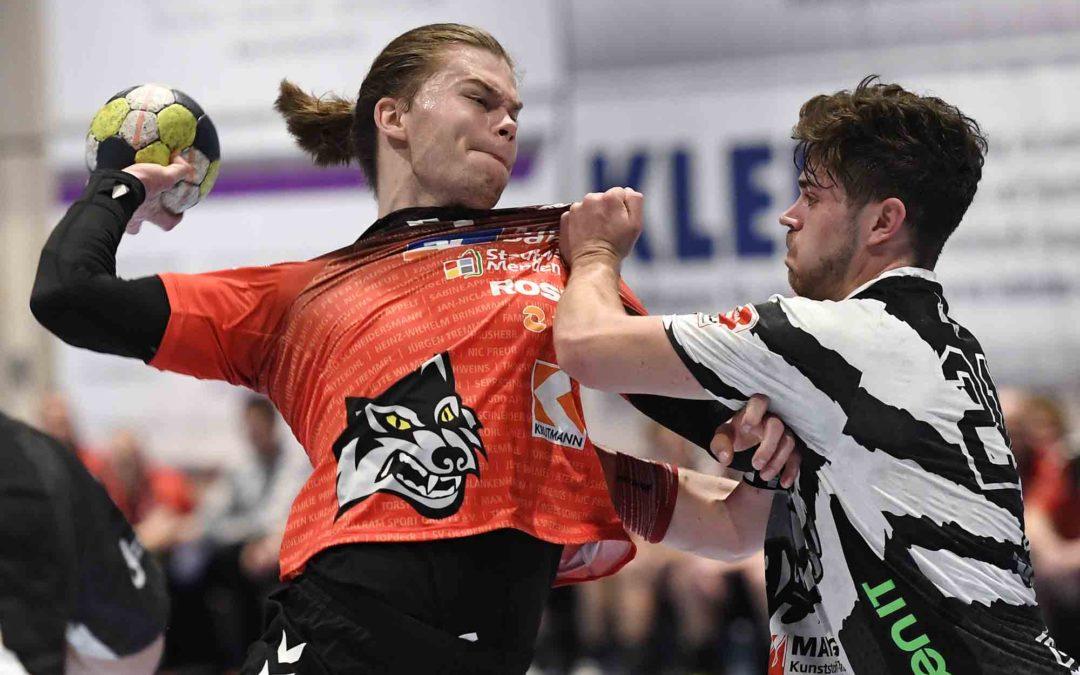 SG Menden Sauerland Wölfe unterliegen im Kreis-Derby den SGSH Dragons mit 25:30 (13:17)