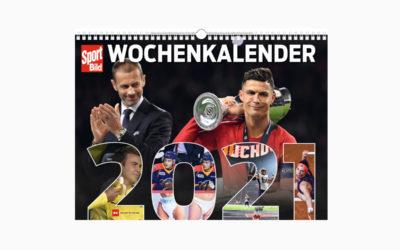 """Kalender: """"SportBild Wochenkalender 2021"""" – Einzigartige Sport-Momente"""