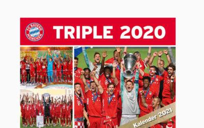 FC Bayern München Triple 2020 Kalender Edition 2021 – Fotos voller Emotionen