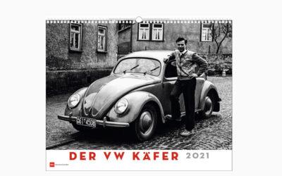 """Kalender: """"Der VW Käfer 2021"""" – Ein Symbol der Unabhängigkeit – 13 S/W Fotos mit Erläuterungen"""
