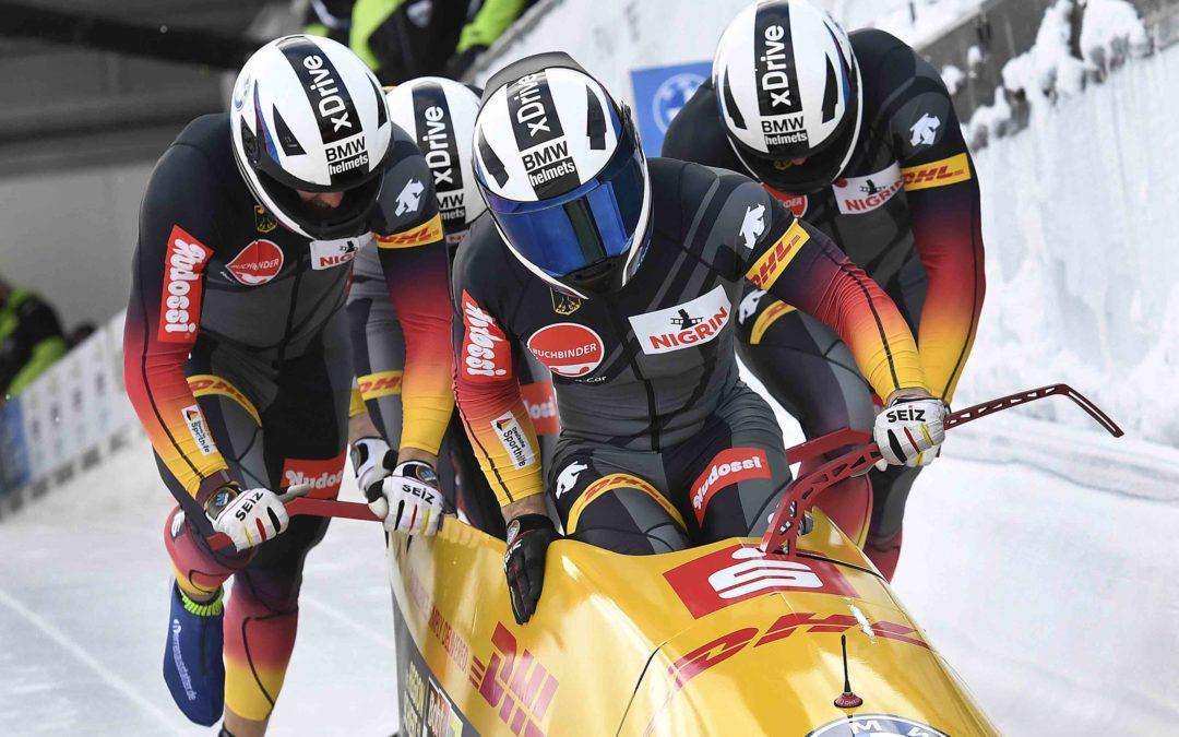 Francesco Friedrich Festspiele beim Bob und Skeleton Weltcup in der VELTINS EisArena Winterberg