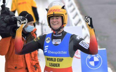 Rennrodeln in Oberhof – Natalie Geisenberger mit dem 50igsten Weltcupsieg ihrer Karriere